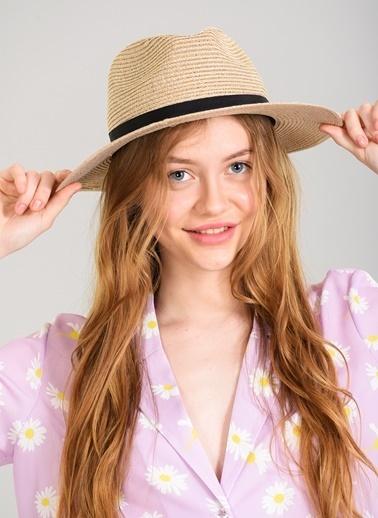 Agenda Hasır Şapka Pembe